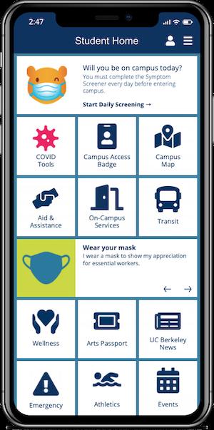 UC Berkeley Mobile App