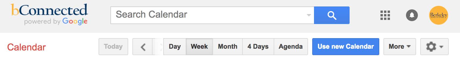 Use new Calendar in bCal