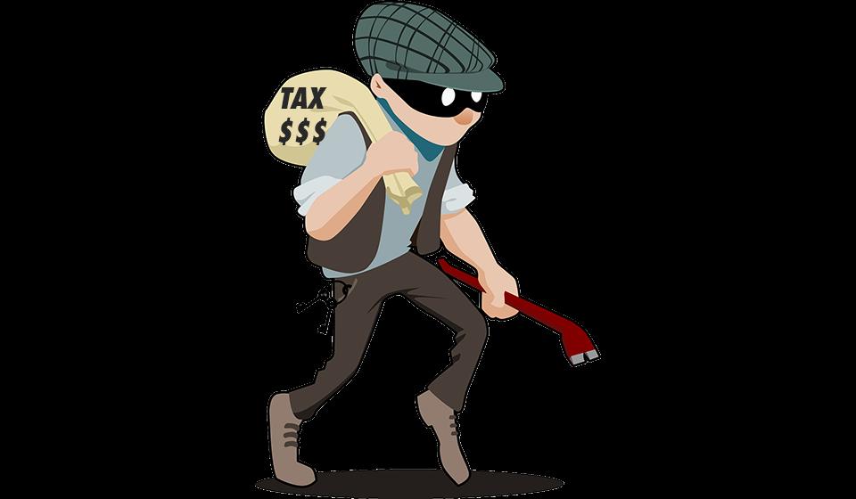 Tax Burglar photo courtesy Pixabay