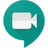 Google Meet Logo and Login Button