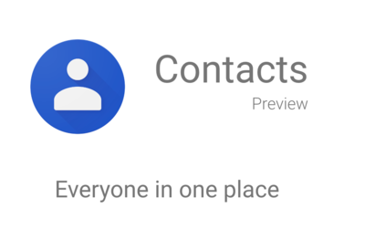 Contacts Preview Image
